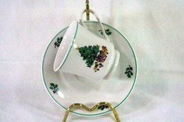 Gibson Holly Tree Cup And Saucer Set #32061 6 oz. - $4.49