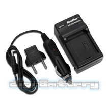 TWO BATTERIES + Charger Pack for Sony NP-F550 NP-F330 NP-F530 NP-F570  2.5Ah image 5