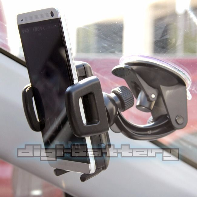 Universal Car Windshield Mount Holder Bracket For Samsung Galaxy S3 S4 S5 S6