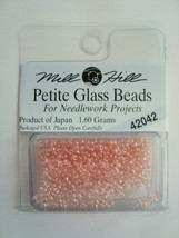 Mill Hill Petite Glass Beads for Needlework Projects 42042 Misty - $1.25
