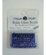 Mill Hill Petite Glass Beads for Needlework Projects 42041 Dark Denim - $1.25