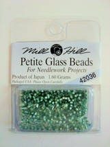 Mill Hill Petite Glass Beads for Needlework Projects 42036 Bay Leaf - $1.25