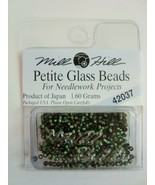 Mill Hill Petite Glass Beads for Needlework Projects 42037 Green Velvet - $1.25