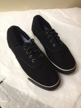 Womens Black Wool Keds Sneakers Size 7 New - $22.76