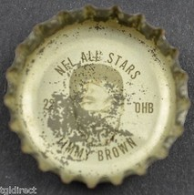 Coca Cola NFL All Stars King Size Bottle Cap Timmy Brown Philadelphia Eagles - $4.99