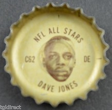 Vintage Coca Cola NFL All Stars Bottle Cap Los Angeles Rams Dave Jones C... - $6.99