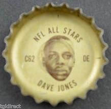 Vintage Coca Cola NFL All Stars Bottle Cap Los Angeles Rams Dave Jones Coke Soda - $6.99