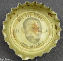 Coca Cola NFL All Star Bottle Cap Baltimore Colts John Mackey Coke King Size - $6.99