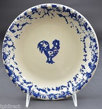 "Tienshan Pottery Animals Pattern  Rooster Salad Plate 7.625"" Wide Sponge... - $7.99"
