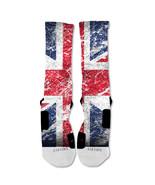 "Nike Elite socks custom British Flag ""Fast Shipping"" - $24.99"