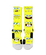 "Nike Elite socks custom Spongebob Squarepants  ""Fast Shipping"" - $24.99"