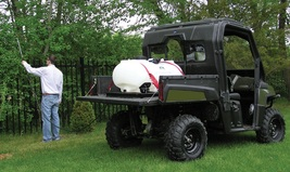 Commercial 60 Gallon Skid Sprayer with 3 GPM Shurflo Pump - $485.90