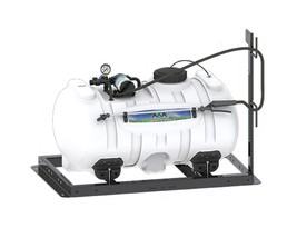 Agriculture Skid Sprayer 60 Gallon with 3 GPM Shurflo Pump - $485.91