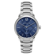 Burberry BU10007 The Classic Round Blue Dial 40mm - RRP 775 USD - 2 Years Warran - $299.00