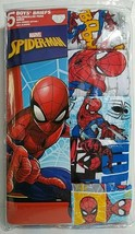 Marvel Spider-Man Boys 5 Pack Briefs Underwear Size 8 NEW - $14.01