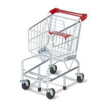 Shopping Cart Toy - Metal Grocery Wagon-Melissa and Doug - $40.00