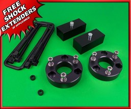 "2.5"" Front + 1"" Rear Level Lift Kit Black Billet For 04-20 Nissan Titan ... - $132.00"