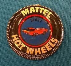 "MATTEL HOT WHEELS (1967) ""Deora"" red line metal pin (some rust) Hong Kong - $9.89"