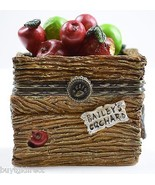 Boyds Bears Resin Treasure Box Candice's Apple Crate & Doc McNibble Mous... - $24.99