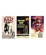 The Bad Seed - set of 3 magnets - $12.99