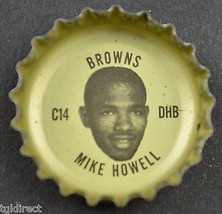 Vintage Coca Cola NFL Bottle Cap Cleveland Browns Mike Howell Coke Colle... - $6.99
