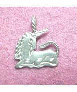 Unicorn charm for pendant or charm bracelet - $5.50