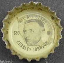 Coca Cola NFL All Stars Bottle Cap St. Louis Cardinals Charley Johnson Coke Soda - $6.99