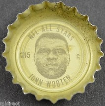 Coca Cola NFL Bottle Cap Cleveland Browns John Wooten Coke King Size All Star - $6.99