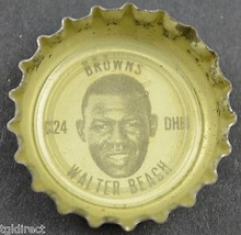 Sprite NFL Bottle Cap Cleveland Browns Walter Beach Coca Cola Company Football - $6.99