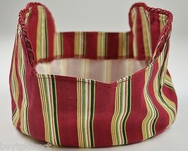Longaberger 2007 Christmas Collection Sweets & Treats Basket Liner Holiday - $11.99