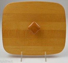 "Longaberger Woodcrafts Lid For Rectangle Basket 10.25"" Wide Collectible ... - $19.99"