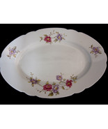 "Cmielow Poland 13"" Oval Serving Platter China Louise Pattern - $28.95"