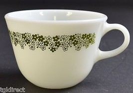 """Corning Pyrex Spring Blossom Pattern Flat Cup 2.625"""" Tall Home Decor Kitchen - $7.99"""