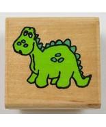 Wood Mounted Rubber Stamp By Stamp Affair Dinosaur Envelope Scrapbook Cr... - $6.99