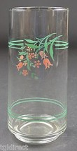 "Corning 14 Oz. Cooler Tumbler Rosemarie Pattern 5.875"" T Corelle Floral ... - $7.99"