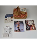 Boyds Bears 2002 Frolickin F O B Collectors Club Picnic Basket Kit Colle... - $44.99