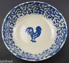 """Tienshan Pottery Animals Pattern  Rooster Coupe Cereal Bowl 6.5"""" Wide Sp... - $9.99"""