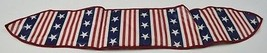 Longaberger 1998 All American Handle Tie Collectible Fabric Decor Accent - $10.99