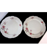 "Cmielow Poland 8"" Round Dinner Plate China Louise Pattern lot of 2 - $31.20"