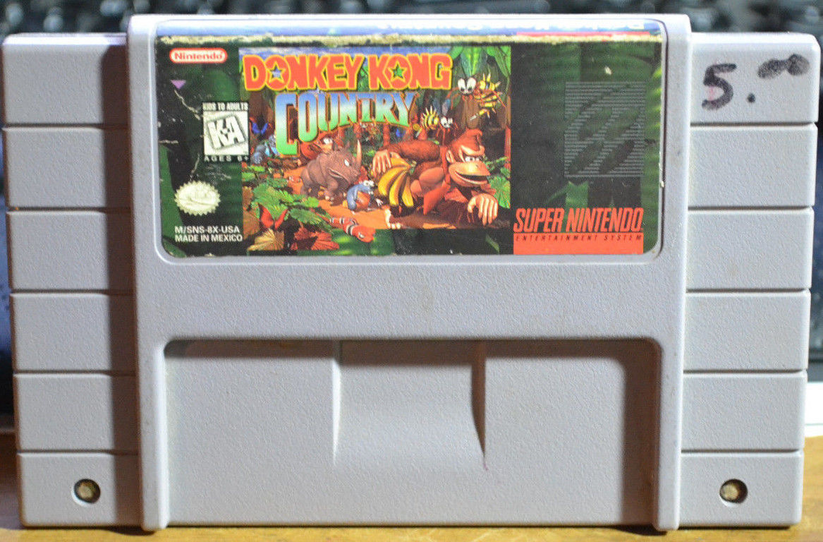 Donkey Kong Country  (Nintendo SNES, 1994)