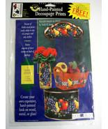 Anita's Hand-Painted Decoupage Prints Winery Grapes Fruit Andy Jones Mul... - $19.99