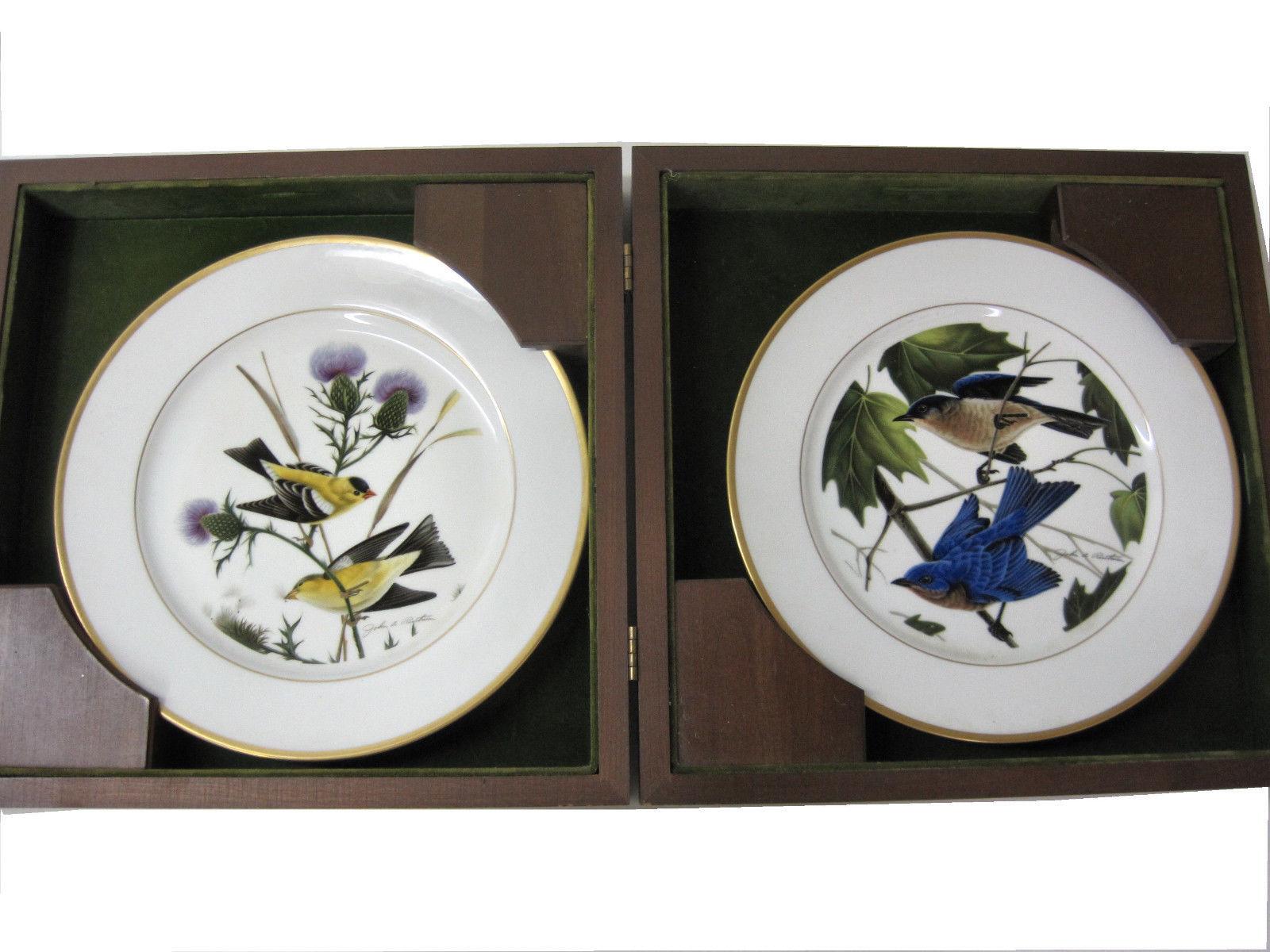 Hutschenreuther Collector Plates Gold Finch Bluebird Ruthven Artist Boxed Set - $89.95  sc 1 st  Bonanza & Hutschenreuther Plates: 19 listings