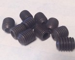"BRIGHTON-BEST 5/16-24 x 3/8"" Alloy Socket Set Screws Cup Point 10 Pieces"