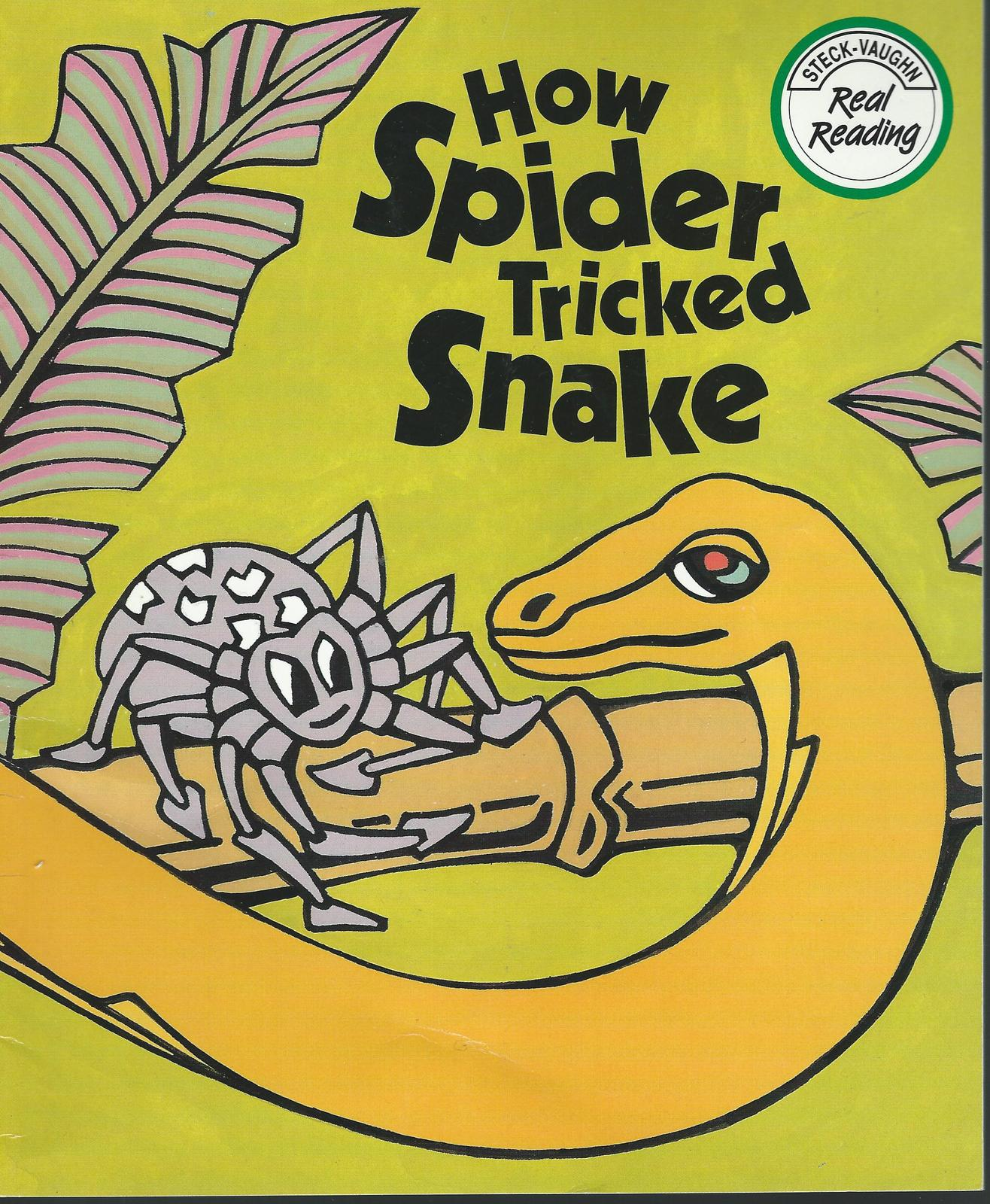 How spider tricked snake 001