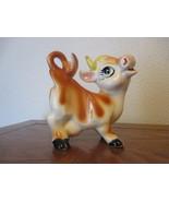 Vintage Porcelain Cow figurine #53/453 - $15.99