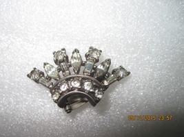 One Sterling silver Trifari Crown Earring - $65.00