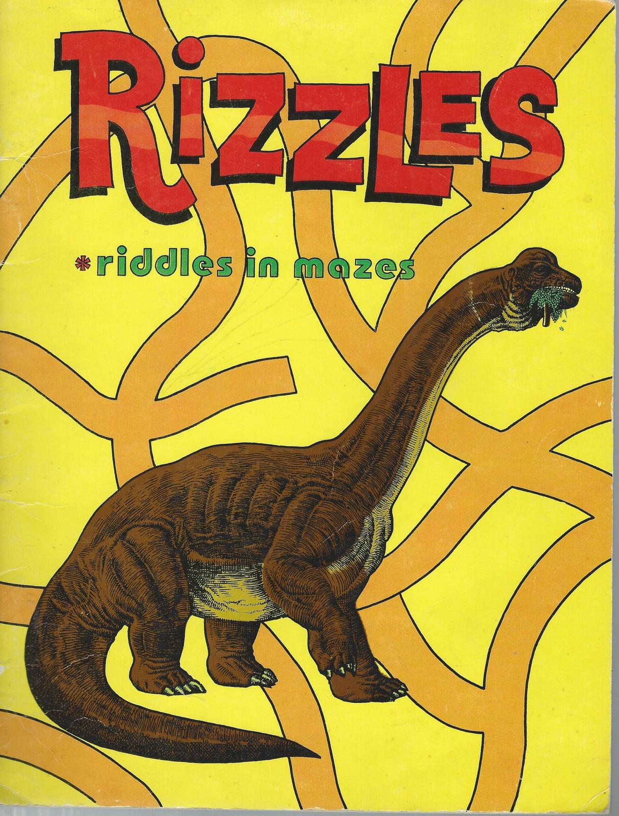 RIZZLES-RIDDLES IN MAZES,LEE KAPLAN,MEDIA FOR EDUCATION.1978