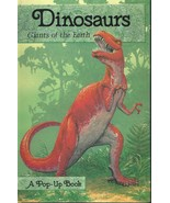 Dinosaurs:Giants of the Earth POP-UP BOOK,1988, HTF,OOP - $72.99