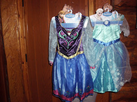 Disney Frozen Elsa and Anna dress/ costume size 4-6 nwt Hard to Find - $49.98