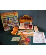 Rare Vtg. Fisher Price Fun-with-Food #2119 McDonald's Cooking Center w/B... - $120.00